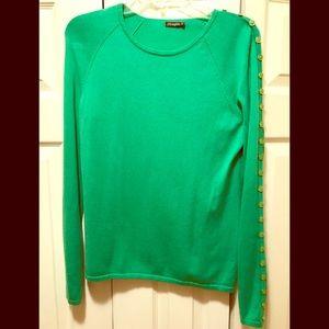 J .McLaughlin sweater size medium emerald green